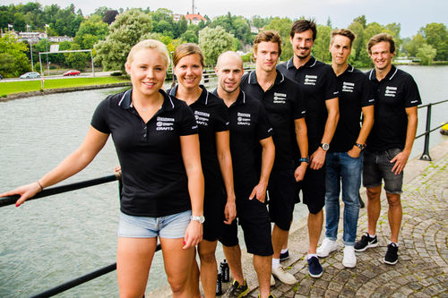 Lagbilde av Team Serneke 2016/2017. Teamfoto.