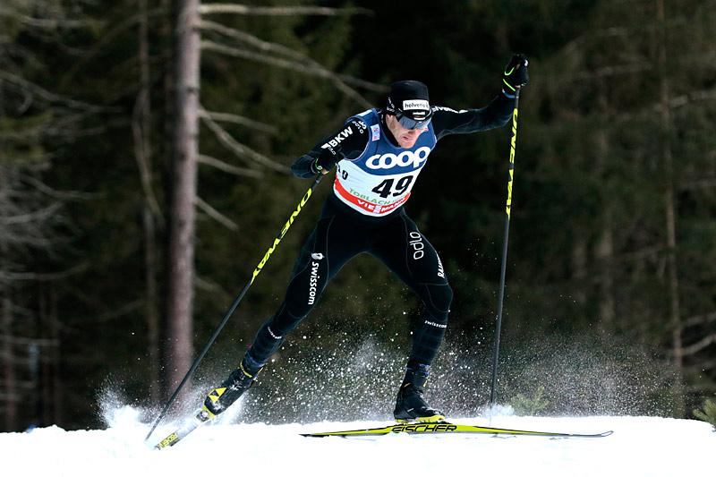 Dario Cologna. Foto: Modica/NordicFocus.