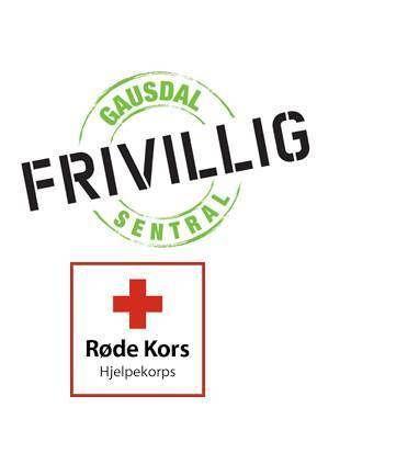 Logo frivilligsentralen og røde kors