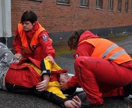 Illustrasjon fra Røde Kors sin nettside