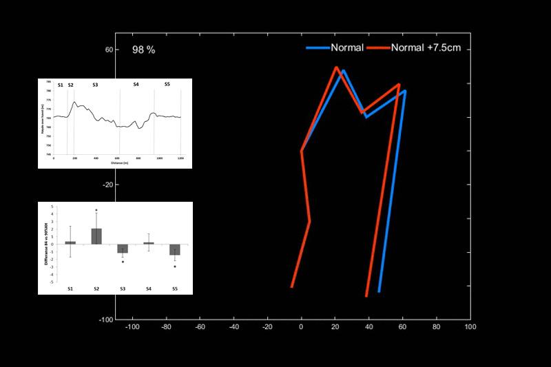 Studie: Hva er egentlig effekten av lengre staver i staking? Grafikk og tekst: Thomas Losengaard.