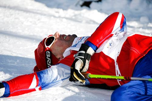 Når beina av uforklarlige grunner bare ikke har lyst til å yte, kan det hende det skyldes lavt energinivå i musklene. Foto: Felgenhauer/NordicFocus.