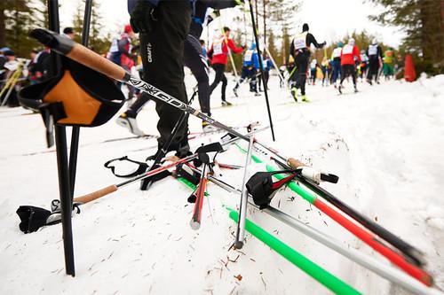 Illustrasjonsbilde fra Vasaloppet. Foto: Felgenhauer/NordicFocus.