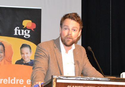 Torbjørn Røe Isaksen på Foreldrekonferansen 2015