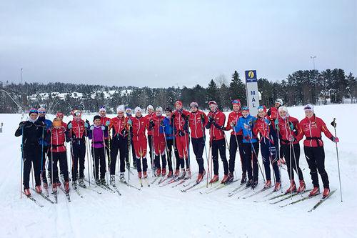 Team Konnerud 2016/2017. Foto: Privat.