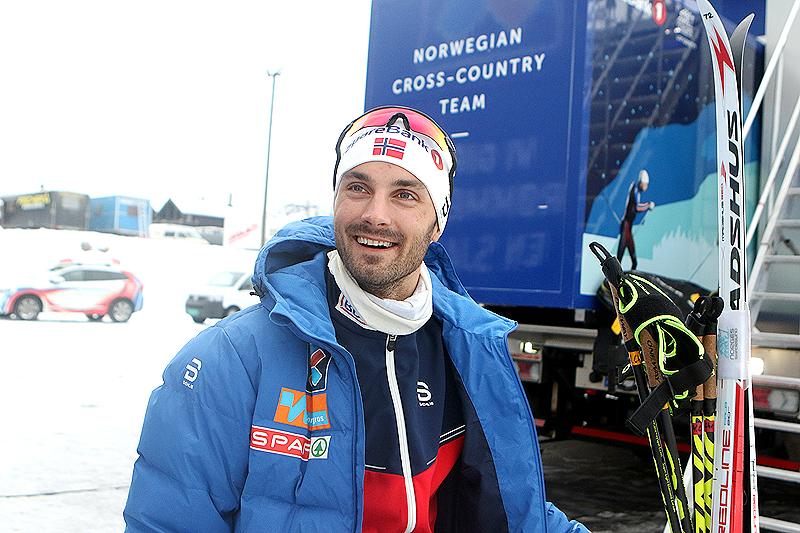 Hans Christer Holund i forkant av sesongåpningen på Beitostølen 2016. Foto: Erik Borg.