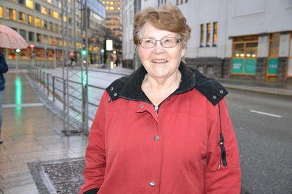 Karin-Marie Flo utendørs