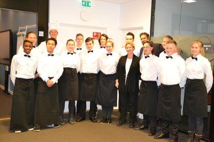 Servitørene fra Rosenvilde vgs FUG 40