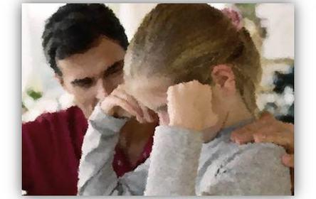 Barn som pårørende bilde