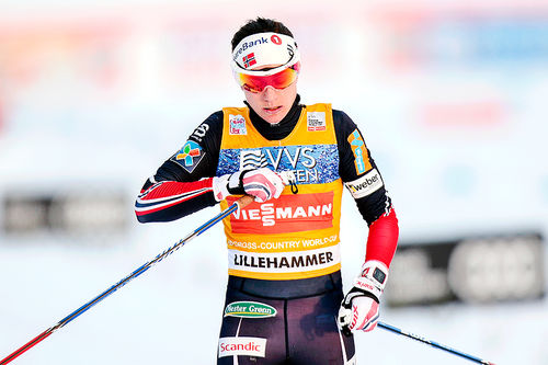 Heidi Weng inn til karrierens første tour-seier. Hun vant verdenscupens minitour på Lillehammer 2016 etter tre etapper. Foto: Modica/NordicFocus.