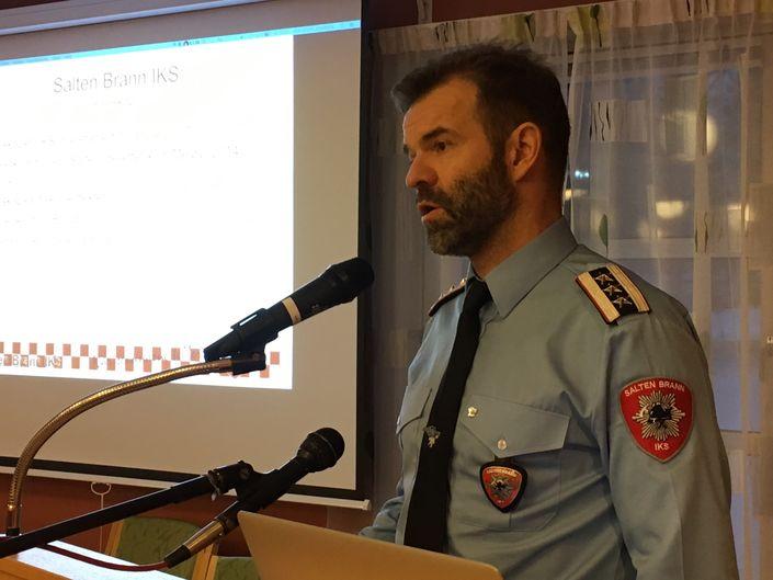 Salten Brann presentasjon Per Gunnar Pedersen