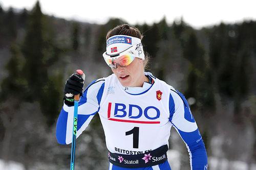 Ingeborg Dahl. Foto: Geir Nilsen/Langrenn.com.