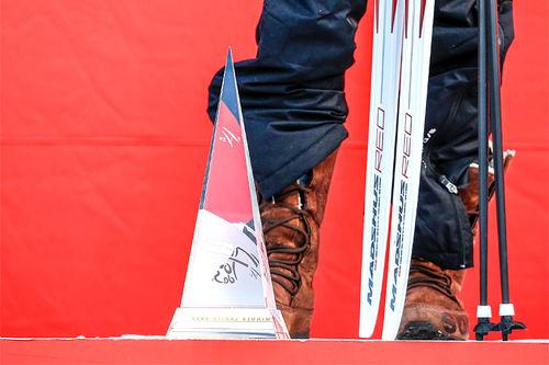 Tour de Ski sitt vinnertrofé. Foto: Modica/NordicFocus.