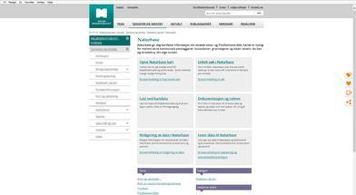 Naturbase med informasjon om utvalgte natur- og friluftslivsområde.