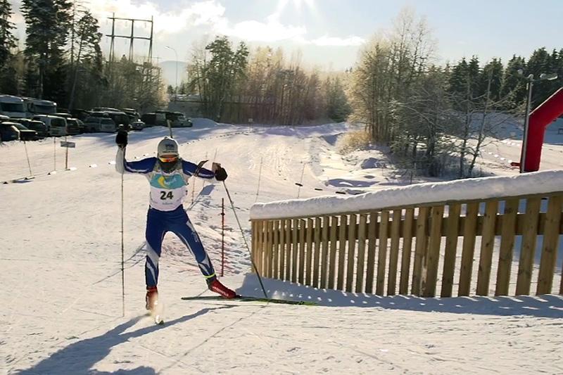 Fra en tidligere utgave av skiskytterfestivalen i Trondheim. Skjermdump fra https://vimeo.com/abogen.