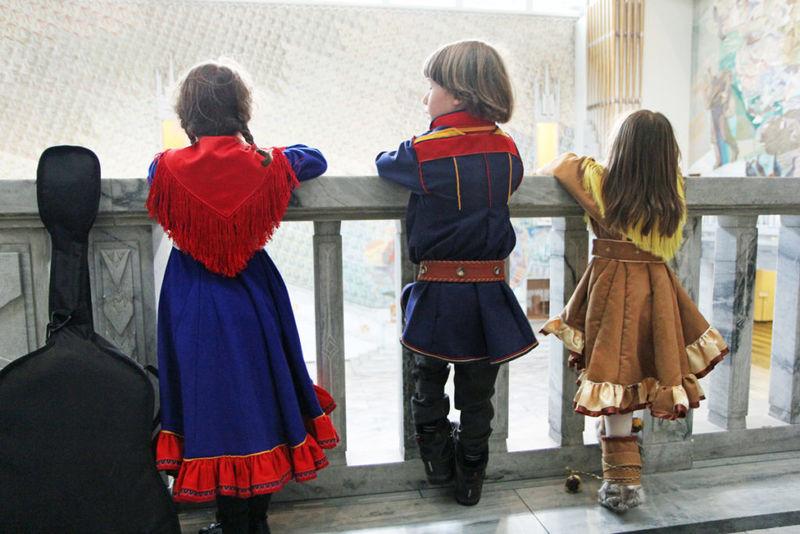 Samiske barn (Foto: Trine Jonassen)