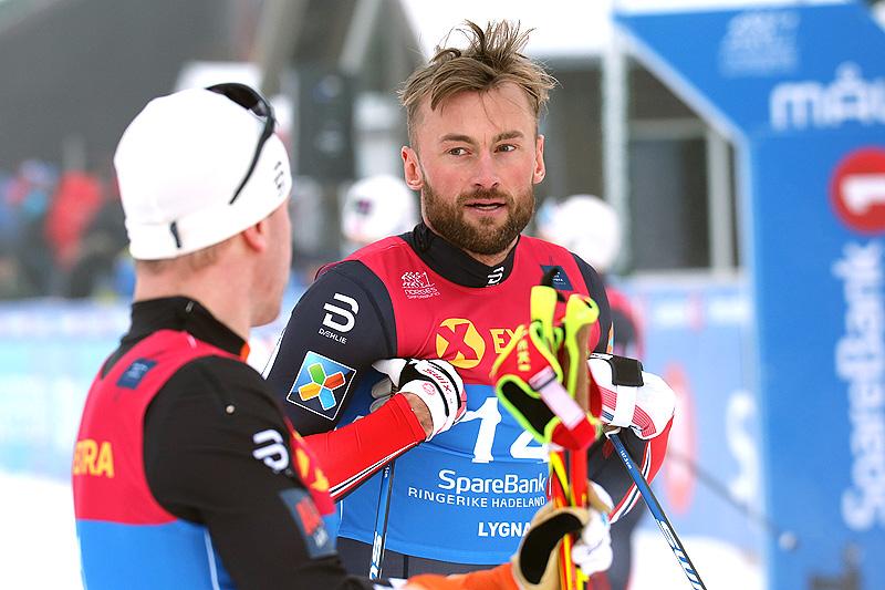 Petter Northug i forbindelse med NM-sprinten på Lygna 2017 der han til slutt endte på 6. plass. Foto: Eirik Lund Røer/Eiluro.