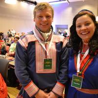 FUG-medlem Henrik Gaup og FUB-medlem Miriam Paulsen