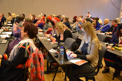 Samisk foreldrekonferansen plenum