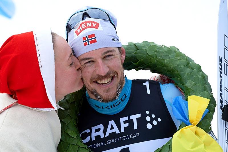 For langløperne er Vasaloppet et naturlig hovedmål. Der har John Kristian Dahl tronet øverst de to siste sesongene. Foto: Rauschendorfer/NordicFocus.