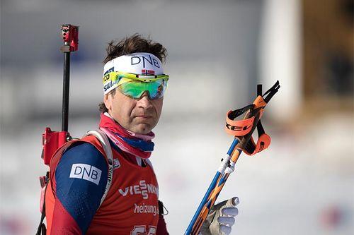 Ole Einar Bjørndalen under VM i Hochfilzen 2017. Foto: NordicFocus.