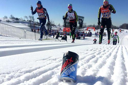 Morten Sætha i Swix sitt racingteam har sendt oss dette bildet fra verdenscupfinalen i Québec og Canada 2017. Foto: Morten Sætha/Swix Sport.