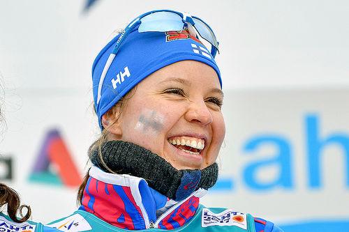 Kerttu Niskanen. Foto: Thibaut/NordicFocus.