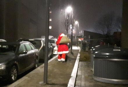 Julenissen kommer