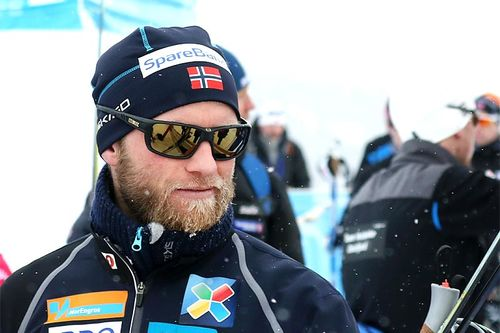 Martin Johnsrud Sundby innkasserte NM-bronse for Røa IL i lagsprinten under mesterskapet på Gålå 2017 sammen med Andrew Musgrave. Foto: Erik Borg.
