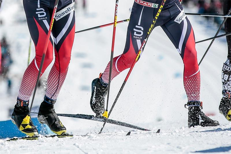Aspektene er mange; diagonal, staking, skøyting, fiskebein, lengde på staver, blanke ski, smurning etc. etc. Foto: Modica/NordicFocus.