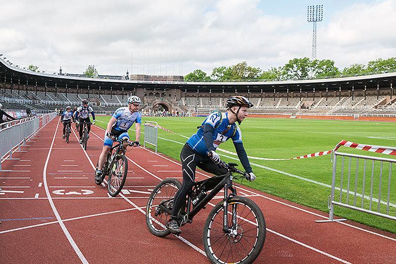 Fra en tidligere utgave av Stadiongirot. Arrangørfoto.