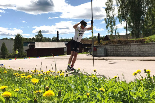 Ragnar Bragvin Andresen i Torsbyrullen et tidligere år. Foto: Ole Jonny Gigernes.