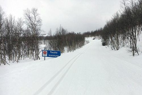 Flotte skiforhold i Sulitjelma 30. mai 2017. Foto: Ingrid Mathisen.