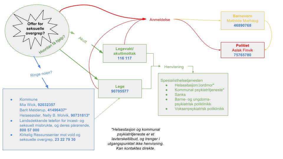 Hvordan få hjelp til behandling etter seksuelle overgrep - skjematisk oversikt - forenklet.png
