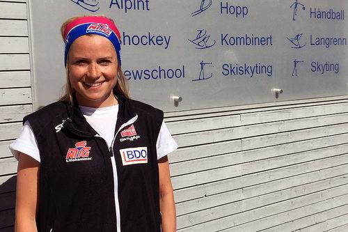 Marthe Kristoffersen. Foto: NTG Lillehammer.