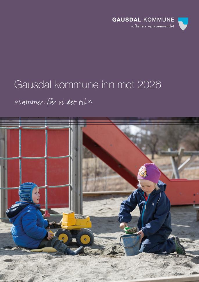 Omslag Gausdal kommune inn mot 2026