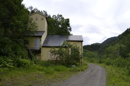 Andåsfossen gamle kraftstasjon