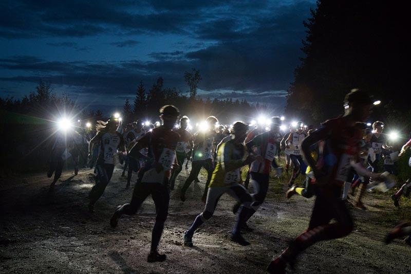 Startskuddet har smelt for Night Hawk Ringerike 2017. Arrangørfoto.