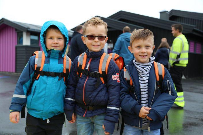 Skolestart - førsteklassinger 2017