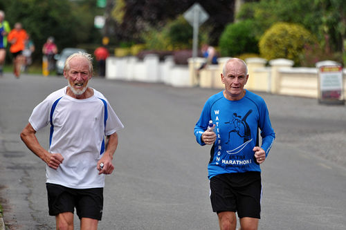Forskning viser at beinmusklene til løpere i 60-åra har vesentlig flere intakte muskelenheter enn tilsvarende hos stillesittende personer på samme alder. Foto: Peter Mooney/Flickr.com.