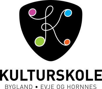 Logo Bygland, Evje og Hornnes kulturskole_350x305