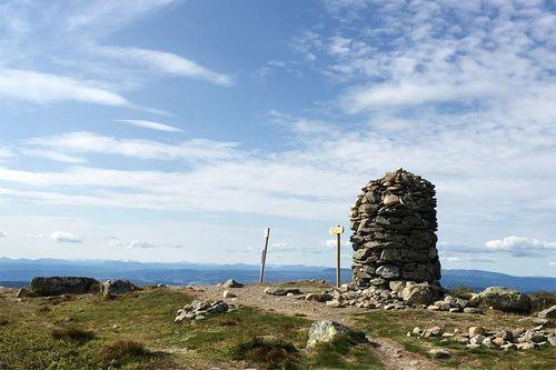 Toppen av Hafjell rager 1065 meter til værs. Foto: Geir Nilsen/Langrenn.com.