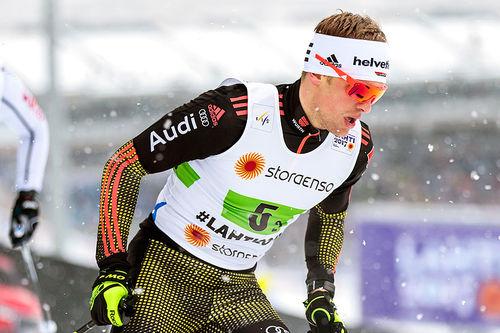 Sebastian Eisenlauer er en av de tyske landslagsløperne som satser hardt mot OL i Pyeongchang. Foto: Modica/NordicFocus.