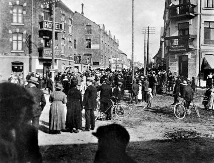 Kulturminner - Mysen sentrum 1.mai 1921
