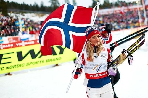 Therese Johaug. Foto: NordicFocus.