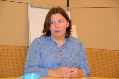 Lena Haddal utviklingsleder samisk opplæring i Osloskolen