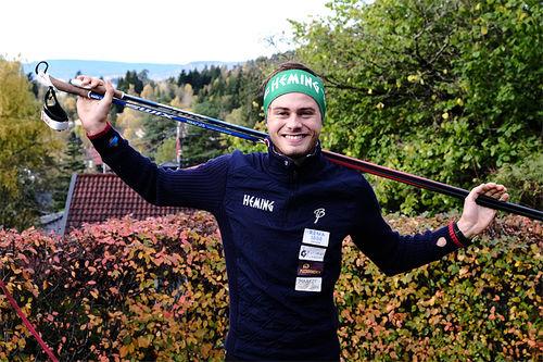 Stian Grastveit. Foto: Harald Astrup Arnesen.