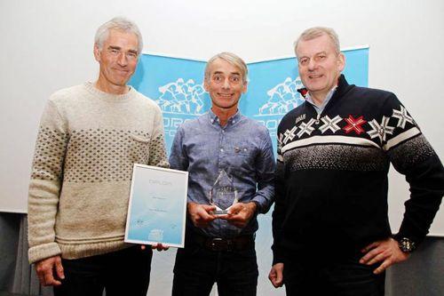 Fra venstre: Eivind Selvig (Linnerudkollen/Kjelsås IL Langrenn), Trond Enkerud og Erik Røste. Foto: Norges Skiforbund.