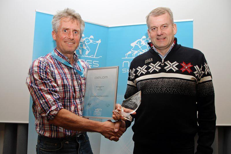 Svein Granerud og Erik Røste. Foto: Norges Skiforbund.