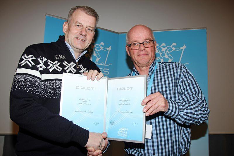 Erik Røste og Harald Sørli. Foto: Norges Skiforbund.
